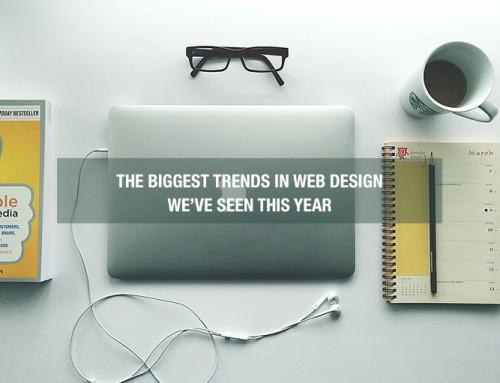 5 Biggest Trends in Web Design We've Seen in 2017